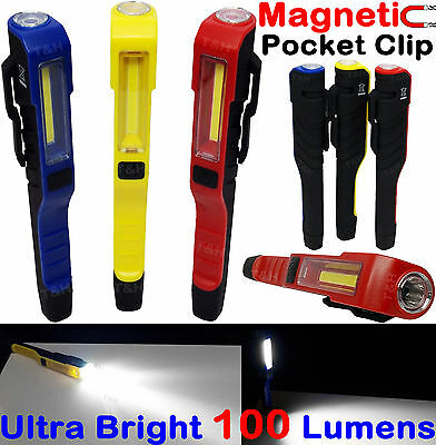 COB LED Work Light With Torch Magnetic Pen Pocket Torch/Inspection Light LampLED