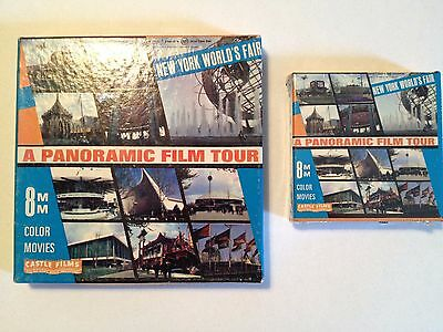 1964-1965 New York World's Fair A Panoramic Film Tour 8mm (2 reels)
