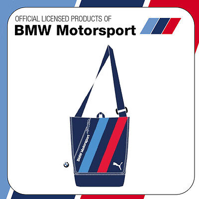 New! Official Bmw Motorsport Puma M-Sport M3 M5 Race Team Shoulder Man Bag