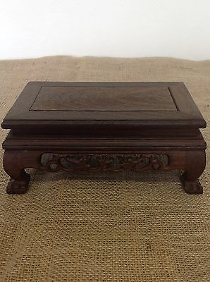 Wooden Bonsai Display Table / Stand  20x12x8 cm