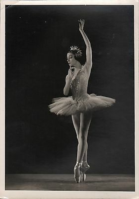 """YVETTE CHAUVIRE in """"The Sleeping Beauty"""" - Orig. Vintage Photo by Houston Rogers"""