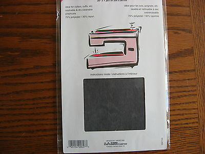 Sew-in Non Woven Interfacing Charcoal