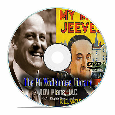 PG Wodehouse, 100 AudioBooks MP3, My Man Jeeves, Jeeves Series DVD E85