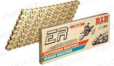 DID 520 ERV3 Gold X-Ring Drive Chain ALL LENGTHS - Road Offroad Racing