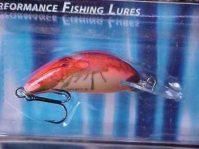 """Salmo 1 3//8/"""" 1//16oz Sinking Hornet H3S HP in HOT PERCH for Trout//Panfish//Crappie"""