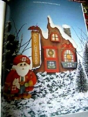 Tolehaven Christmas Painting Book #2 USED Anderson, Partridge Pears Poinsettia
