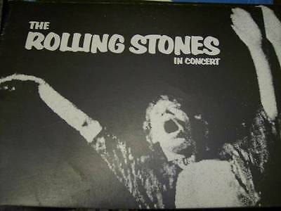 1972 Rolling Stones In Concert Tour Program, Sunday Promotions