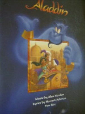 Disney's Aladdin Music Book For Piano,Vocal and Guitar