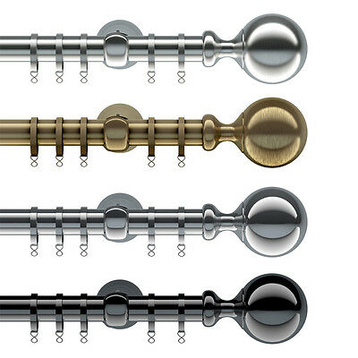 Speedy Ares - 28mm Metal Curtain Pole Sets