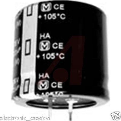Pack of 4 x 10000uF 50V Snap-In Panasonic electrolytic Capacitor ECOS1HA103EA