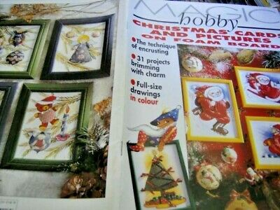 Magic Hobby Christmas Cards & Pictures On Foam Board Magazine #15- 31 Projec