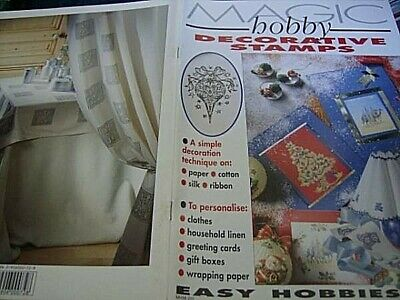 Magic Hobby Decorative Stamps Scrapbooking Craft Magazine #5