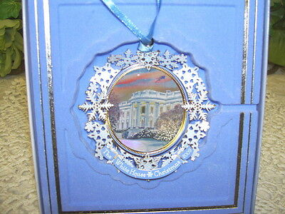 The White House Christmas Ornament 2009 Historical Association