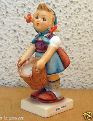 Hum #73 Little Helper Tm6 Goebel M.i. Hummel Figurine Germany Retired Mint $160