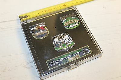 Seattle Seahawks - Seahawk Stadium Inuagural Season 2001 - Ltd Ed Pin Badge Set