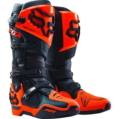 NEW Fox Instinct Boots Black Orange from Moto Heaven
