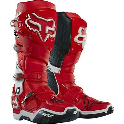 NEW Fox Instinct Boots Red White from Moto Heaven