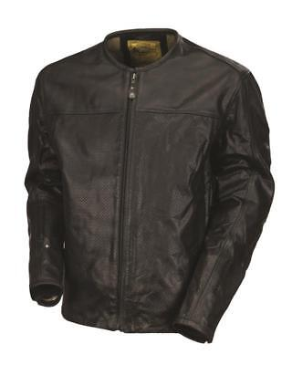 Roland Sands Jacket Barfly Perf Leather Black