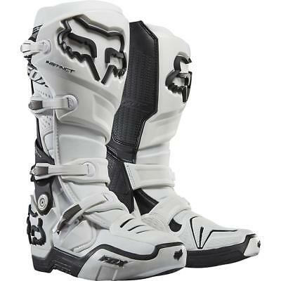 NEW Fox Instinct Boots White Super SALE, While stock lasts! from Moto Heaven