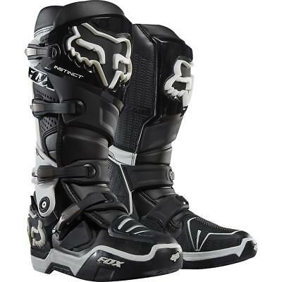 NEW Fox Instinct Boots Black from Moto Heaven