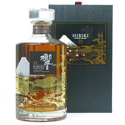 Suntory Hibiki Mount Fuji 21 YO Japanese Single Malt Whisky 700ml