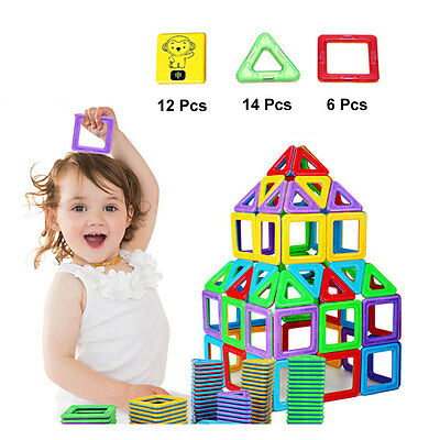 32PCS Similar Magformers Magspace Toys Magnetic Construction Building Blocks New