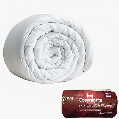 Easy Care Duvet Quilt Single Double King Size 10.5 Tog Anti Allergy Cosynights
