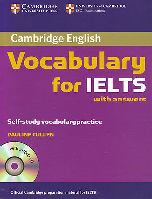 Cambridge VOCABULARY for IELTS with Answers & Audio CD Self-Study Practice @NEW@