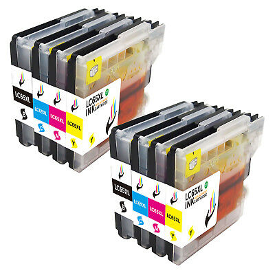 8PK LC61 LC-61 Ink Cartridge For Brother MFC-250C MFC-295CN MFC-490CW MFC-J265W