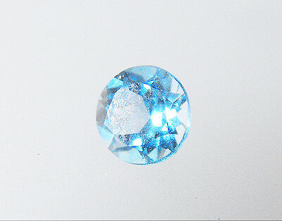 Round Cut 5mm Calibrated Size Natural Blue Topaz Loose Gemstone Pack of 1