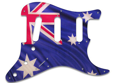 PICKGUARD FOR FENDER® STRATOCASTER® RIGHT HAND  SSS - Aussie Flag