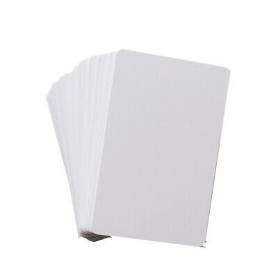 100pcs Blank Inkjet PVC ID Cards, Double Sided Printing by CSF for Epson Canon