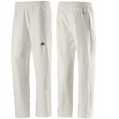 "adidas Senior Cricket Pant Chalk Sizes: (30 - 44"" Waist) O59505"