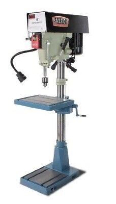 Baileigh DP-15VSF Variable Speed Floor Drill Press, Single Phase (Prewired 11...