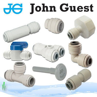 "John Guest 1/4"" Push Fit fittings drinks, Dispense, Ro Units, Brewery"