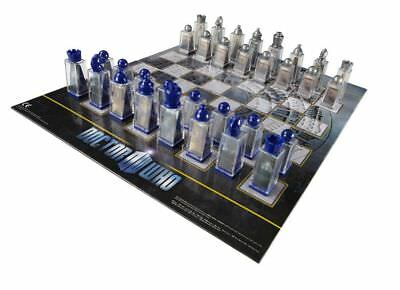 Doctor Who - Animated Chess Set - Doctor Who Free Shipping!