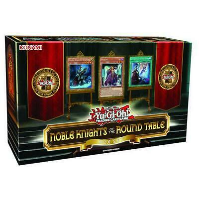 Yu-Gi-Oh! Noble Knights Of The Round Table Set - Konami Free Shipping!