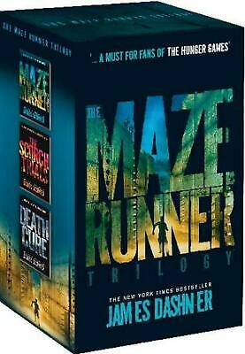 Maze Runner Trilogy Boxed Set by James Dashner Paperback Book