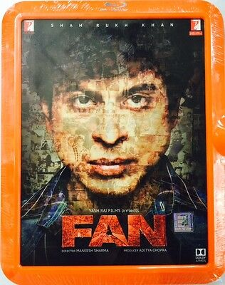 Fan Bluray - Shahrukh Khan - 2016 Bollywood Movie Special Edition Dolby Atmos