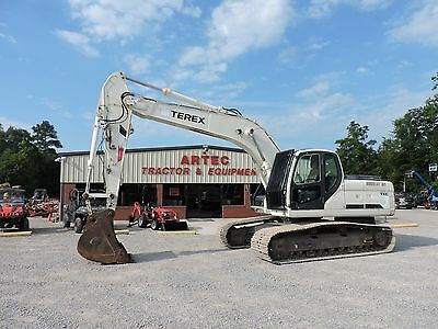 2008 Terex Txc 225 Lc-2 Excavator - Enclosed Cab With A/c And Heat - Low Hours!!