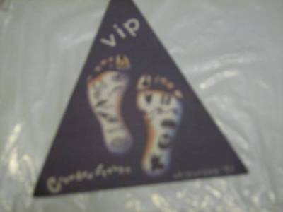 Crowded House VIP Backstage Pass UK/Europe 1993