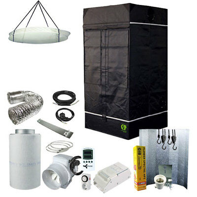 Homebox AMBIENT Q 100 mit Abluftset 245 m³//h Grow Growzelt Growbox Growset