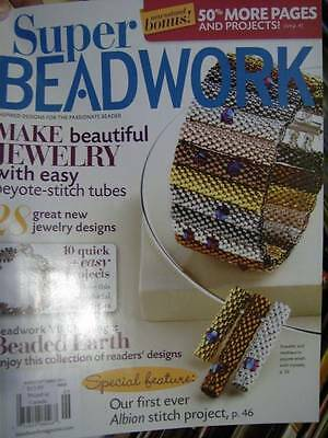 Super Beadwork Magazine August / September 2011 -28 Designs NEW