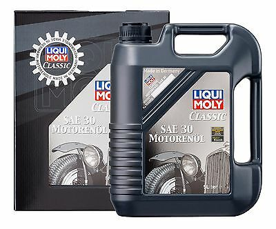 Aceite Coches Clásicos Classic Motor Oil Sae 30 5L Liqui Moly Ref. 1133