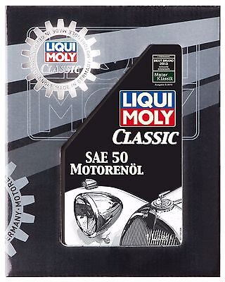 Aceite Coches Clásicos Classic Motor Oil Sae 50 1L Liqui Moly Ref. 1130