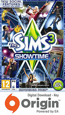 The Sims 3 Showtime Expansion Pack Pc And Mac Origin Key