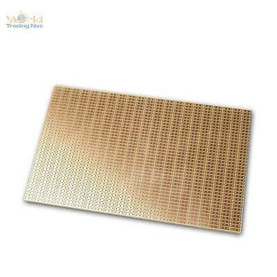 Copper Circuit Board 160x100mm Breadboard Punkt-Ketten-Reihen RM 2,54mm,