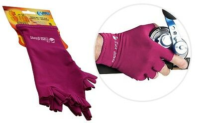 Sun Gloves 50+ UPF Protection (Pink)-SYD Stock