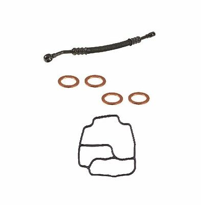 NEW BMW E46 330i Vanos Oil Supply Line Hose With Seal Washers + Gasket