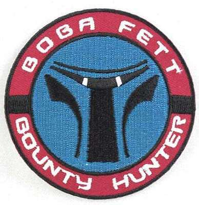 Star Wars Boba Fett Bounty Hunter Embroidered Patch